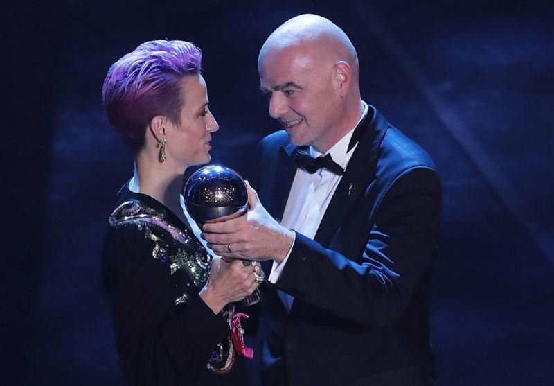 مراسم انتخاب بهترینهای سال فیفا موسوم به «THE BEST» با حضور میهمانان ویژه و ستارههای فوتبال