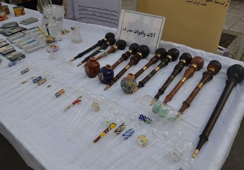 کشفیات موادمخدر در استان مرکزی ۶۰ درصد افزایش یافت