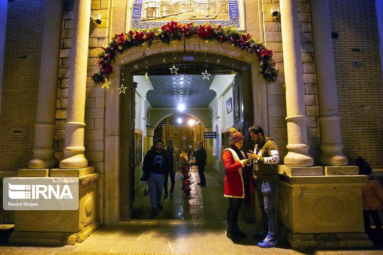 حال و هوای کریسمس در اصفهان
