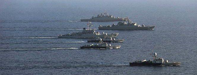 اولین مرحله از تمرینات رزمایش مرکب ایران،روسیه و چین اجرا شد