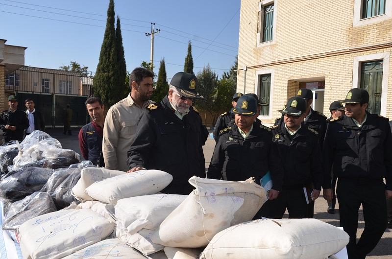 کشف ۲ تن و ۲۱۸ کیلو مواد مخدر در فارس