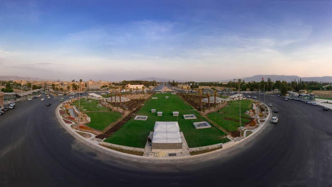 بهسازی میدان الله با اعتبار ۹ میلیارد تومان به اتمام رسید/برگزاری مسابقه برای طراحی المان میدان الله و پل زندگی