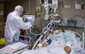 وضعیت وخیم ۹۴ بیمار در بخش های ICU