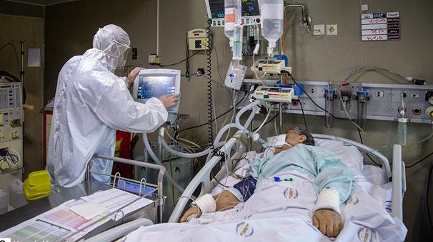 آمار بی سابقه بستری بیمار کووید ۱۹ در طی یکصد روز گذشته