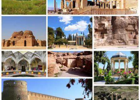 تعطیلی تمامی اماکن فرهنگی،تاریخی فارس