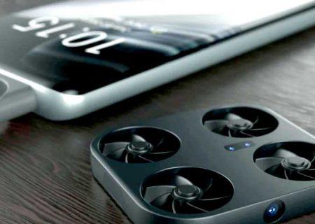 گوشی هوشمند مجهز به پهپاد دوربیندار در راه بازار